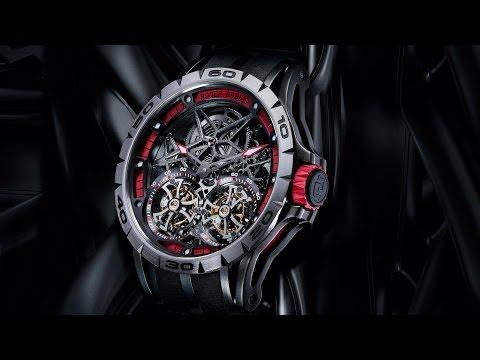 Roger Dubuis SIHH 2015 - Excalibur Spider & Excalibur Automatic Skeleton