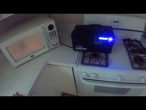 My Kodiak Powers the Whole House: pt. 1 Microwave