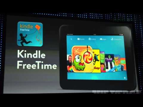 Kindle Fire HD w/ 4G LTE - Amazon's New Tablet!