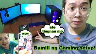 BUMILI NG GAMING PC + PINAKA KAY ATE (NAPA WOW SYA IH)