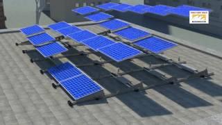 Youen en ValkPro+ voor installatie van zonnepanelen op een plat dak
