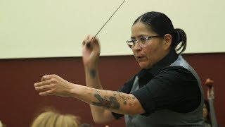 Tattooed, Mexican-American and female: Classical maestra keeps symphony in tune