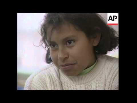 MEXICO: CHILDREN AND YOUNG ADULTS LIVE IN SEWERS