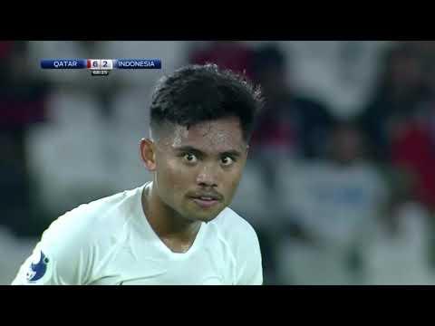 Indonesia VS Qatar (Afc Cup U19 Championship 2018) ENGLISH COMMENTARY!!!