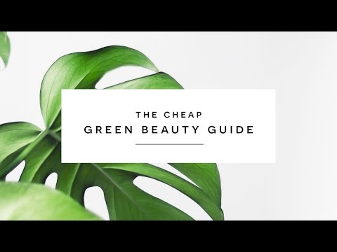 The Green Beauty Guide: Finding Cheap, All Natural Beauty