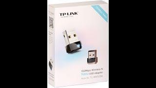 Обзор Сетевого адаптера WiFi TP-LINK TL-WN725N USB 2.0