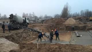 Доставка бетона в Бобруйске.Подготовка заливки котлована  11.12.15(, 2015-12-12T13:28:46.000Z)