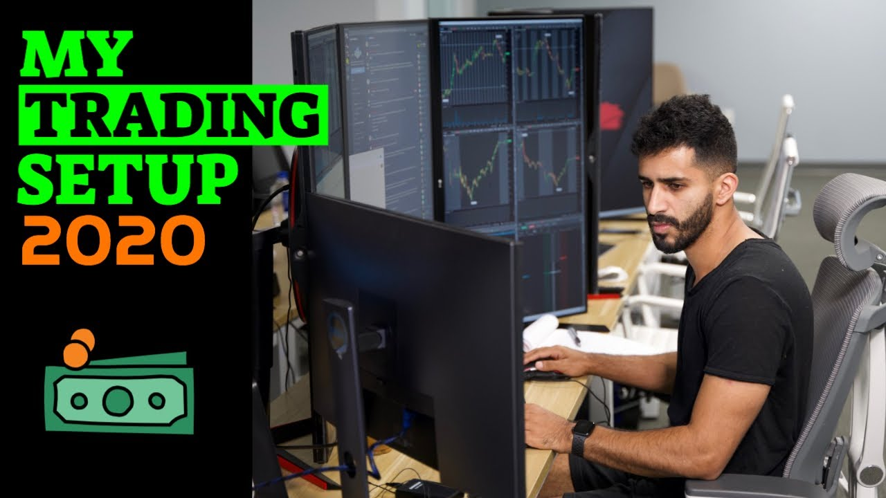 My Trading Setup 2020: (Gaming PC, Monitors, Chair, Time Frames & What's On My Stocks Charts)