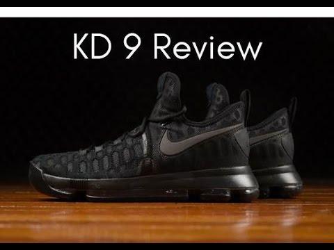 quality design 69957 fdf2f Nike KD 9 'Triple Black' Review