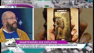 ¿Por qué explotan los teléfonos móviles?