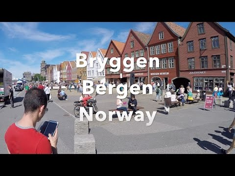 Bryggen Bergen Norway Travel Video