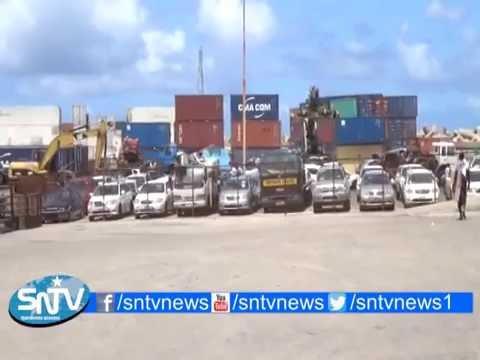 Turkish Aid Ship Docks In Mogadishu Somalia