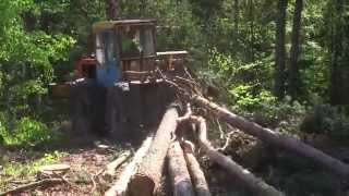 Ciągnik leśny LKT z kompletem pomp hydraulicznych HYLMET