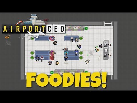 Airport CEO - Airport Tycoon Sim - Ep. 4 - Food Services
