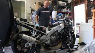 In the Garage - 1993 Honda CBR900RR - The 1st Start