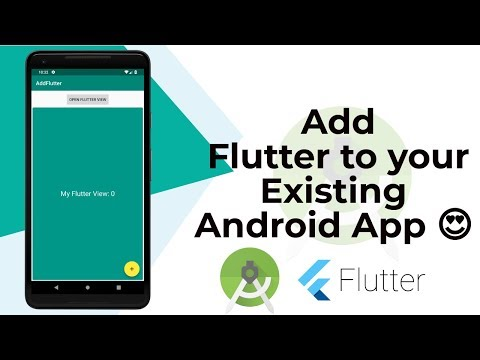 Add Flutter To Existing Or New Android App   Tutorial