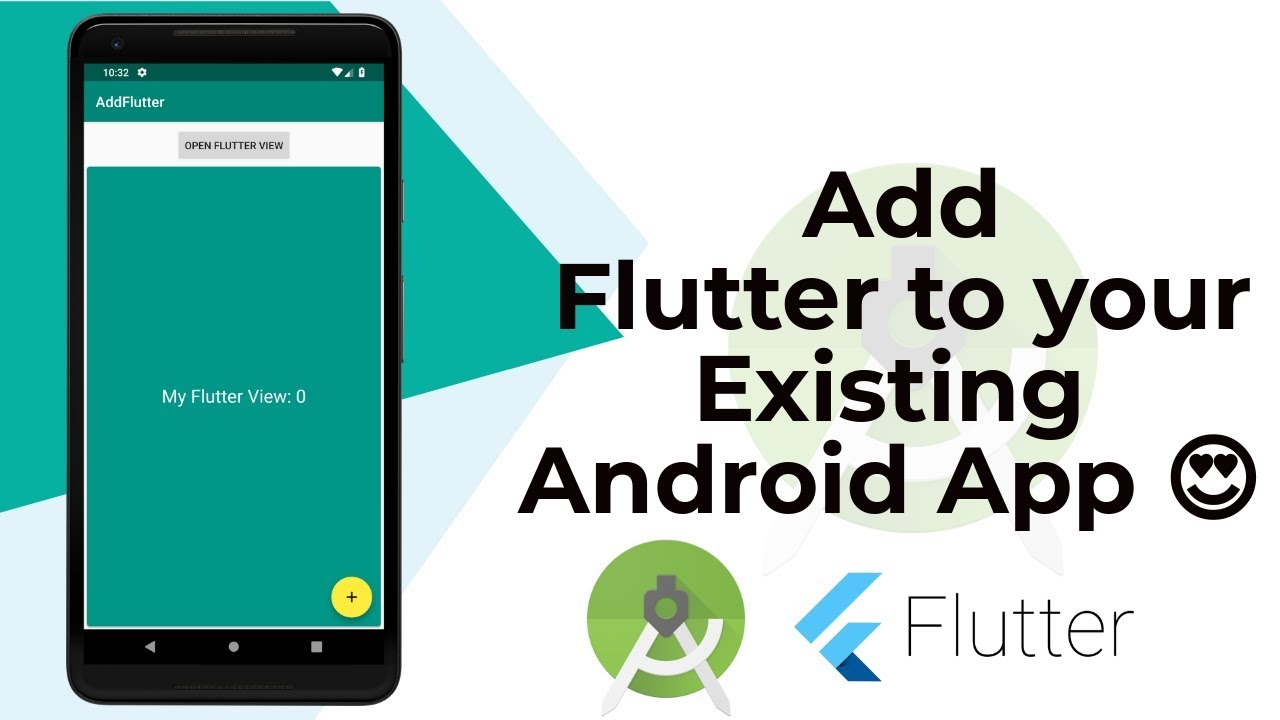 Add Flutter To Existing Or New Android App | Tutorial