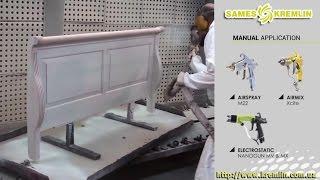 видео Оборудование для покраски мебели