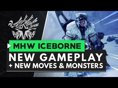Monster Hunter World Iceborne Gameplay Part 1 - New Monsters, Moves & More!