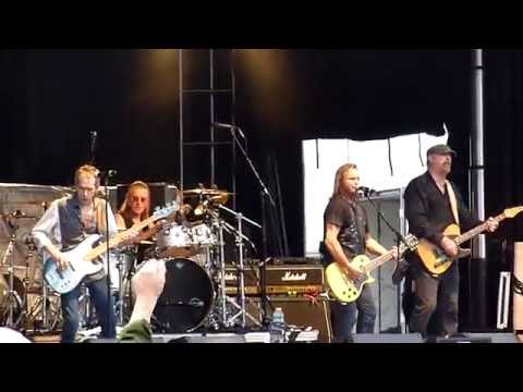 Foghat - I Just Wanna Make Love To You (at Ribfest 2014)