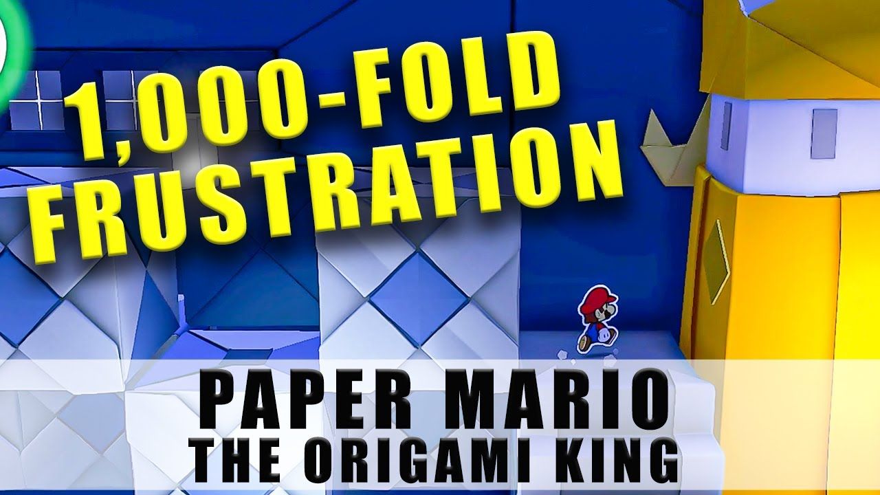 Paper Mario The Origami King 1000 fold arms Origami Castle Where to find blocked stairs pad