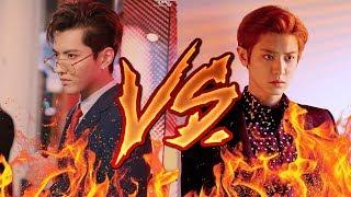 Video EXO CHANYEOL VS KRIS WU (RAP BATTLE  2017) download MP3, 3GP, MP4, WEBM, AVI, FLV Juli 2018