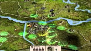 Panzer General 3D Assault - Montgomery s16 - MARKET GARDEN ! ! !