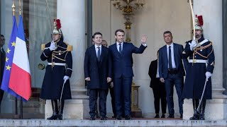 Macron welcomes Putin, Zelensky for Ukraine peace talks in Paris