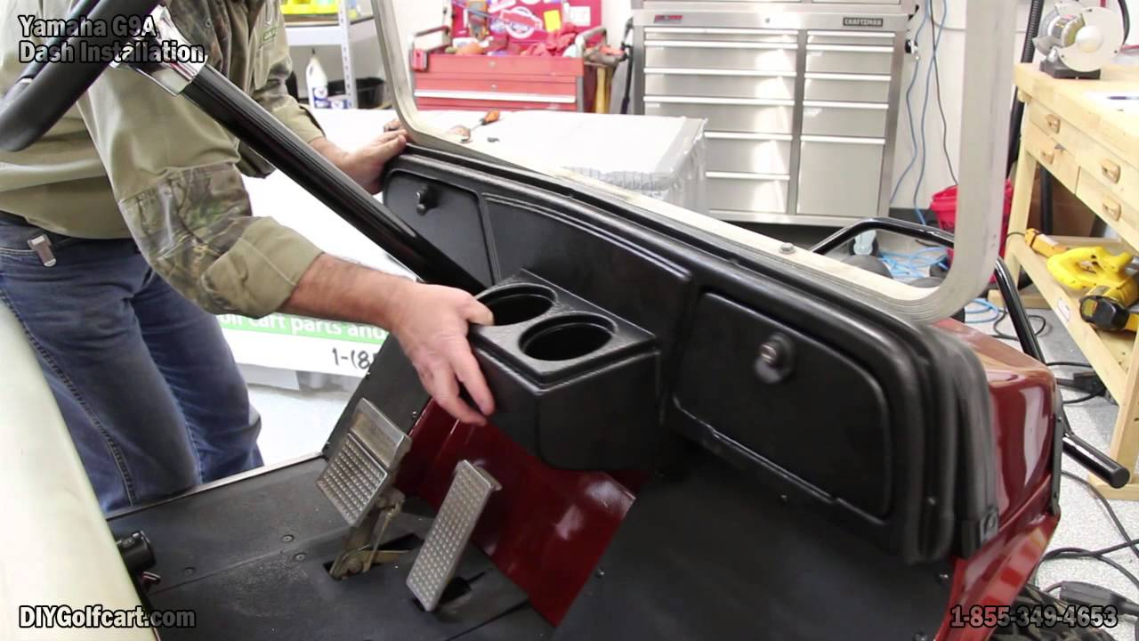 Yamaha G2, G9 Dash | How to Install on Golf Cart - YouTube on garage wood, tools wood, boat wood, golf rack wood, truck bed wood, construction wood, trailer wood, umbrella wood, wagon wood, rolls royce wood, landscape wood, hot tub wood, car wood, eagle wood, kayak wood,