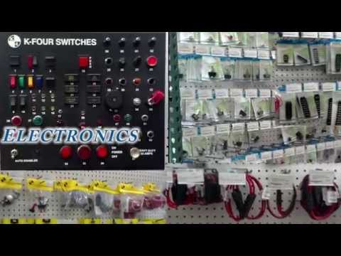 Willy's Electronic Supply's Huge Selection - San Diego Store