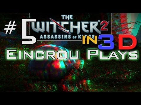 [Witcher 2] Let's Play Pt.5 - The Combat Episode (3D Video)