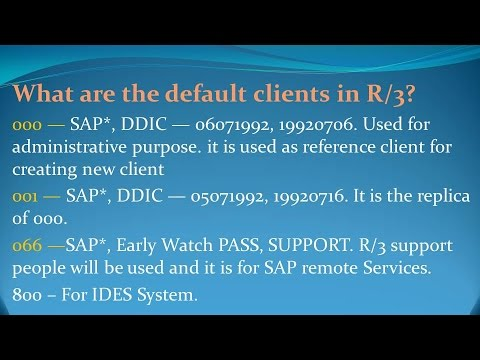 SAP Basis Interview Questions and Answers for freshers and experienced–  Part 5
