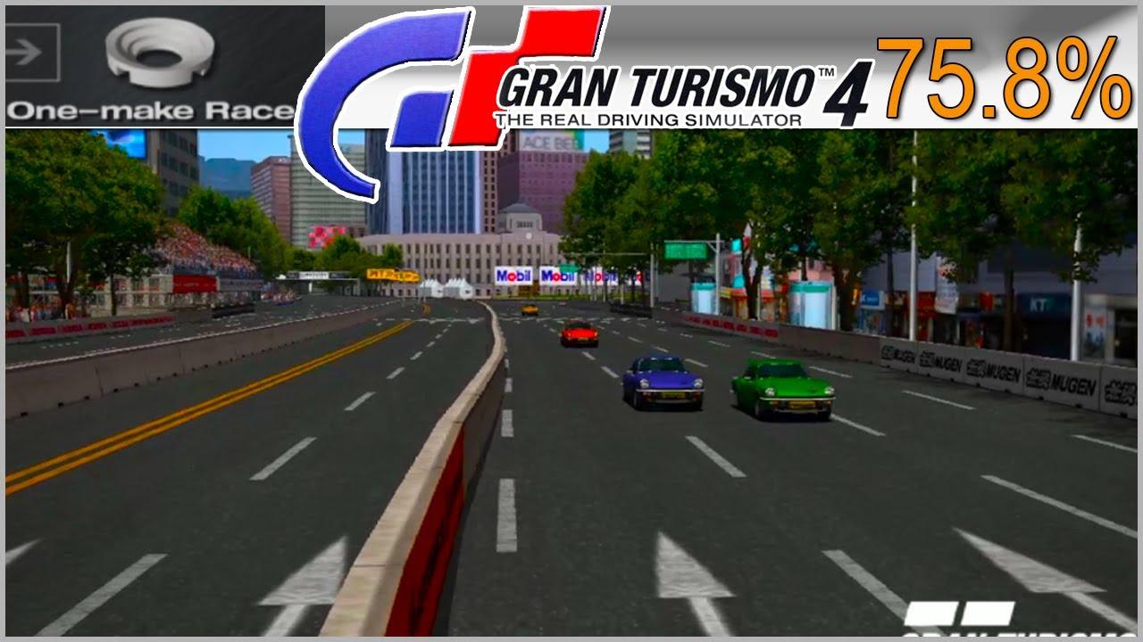 📣 TRIUMPH SpitFire 1974 Final | One Make Races - Gran Turismo 4 – 75.8%