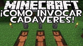 Minecraft 1.8: Como Invocar Un CADAVER SIN MODS (Truco de Minecraft)