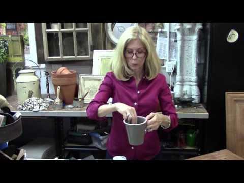 Vintage Market Design Furniture Paint Applying Sealer Youtube