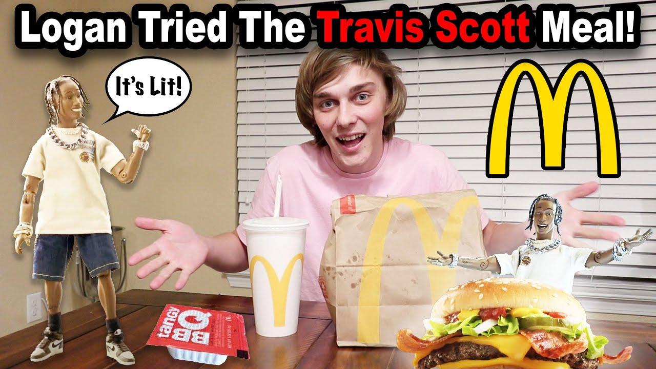 Download SML TRIES THE TRAVIS SCOTT MCDONALDS MEAL!!!