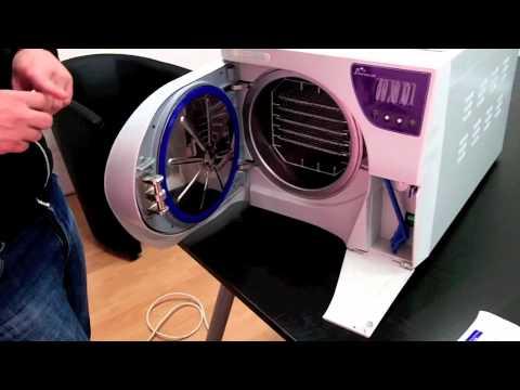 installation autoclave