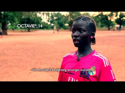 Sport helps children forget - Central African Republic