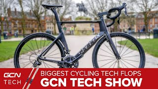 The Biggest Road Bike Tech Flops Of All Time | GCN Tech Show Ep. 99