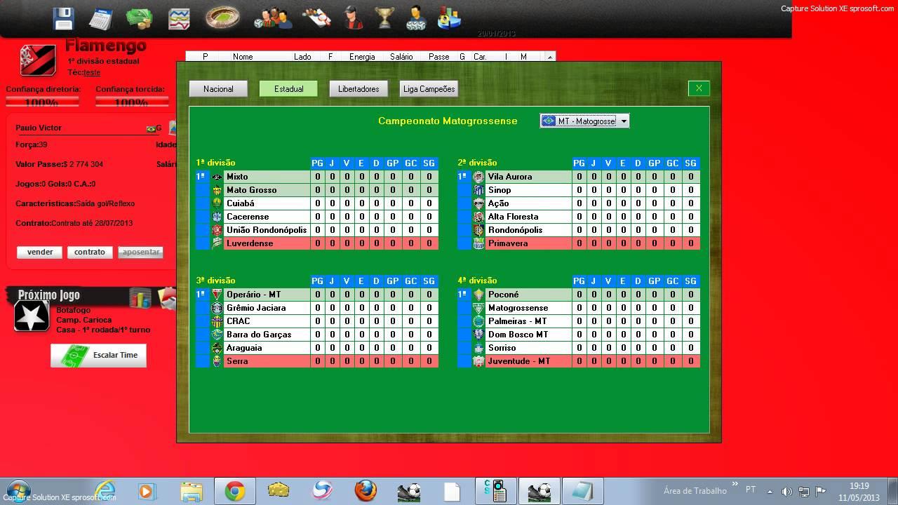 as 44 ligas do brasfoot 2013