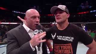 Fight Night San Jose: Robbie Lawler Post-Fight Octagon Interview