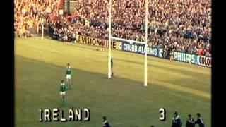 Ireland vs New Zealand Rugby 1978