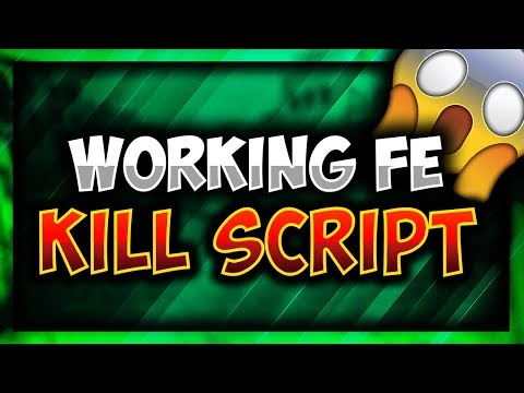 OMG!! | WORKING FE KILL SCRIPT | ROBLOX!