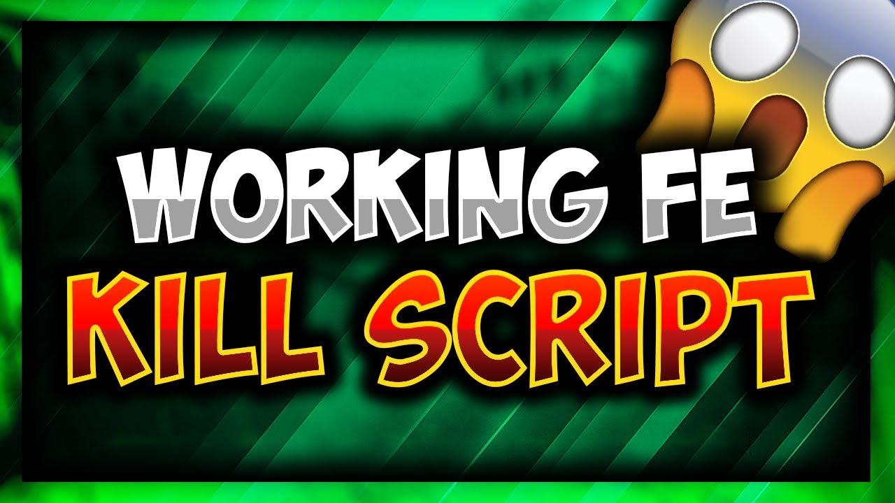 OMG!! | WORKING FE KILL SCRIPT | ROBLOX!