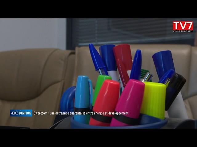 Sweetcom  une entreprise charentaise entre énergie et développement
