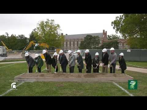 MSU Music Pavilion Groundbreaking Ceremony Recap | 10.19.2018