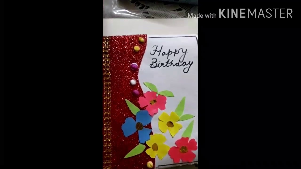 how to make greeting card easy steps  aasani se bacche
