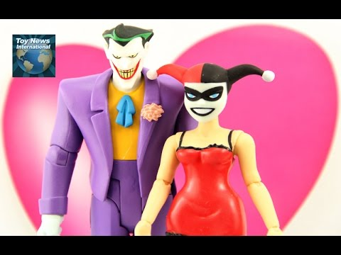 "Batman: The Animated Series 6"" Joker & Harley Quinn Mad Love Figure 2-Pack Review"