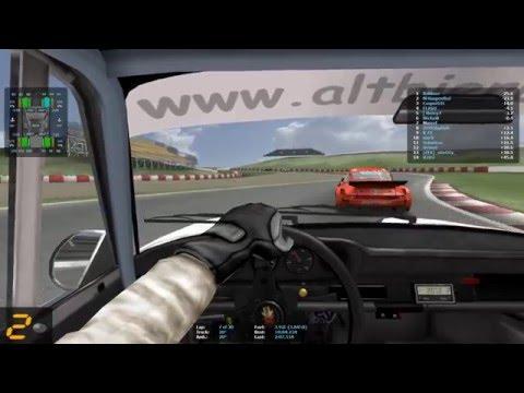 GT Legends - Multiplayer Gameplay - Carrera  - F1 cup 2016 - GP Barcelona - Altbierbude