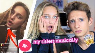 REACTING TO MY SISTERS CRINGEY MUSICAL.LYS | GeorgeMasonTV